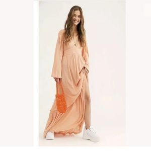 Free People Moon Walkin Maxi Dress.